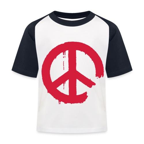 PEACE - Kinder Baseball T-Shirt