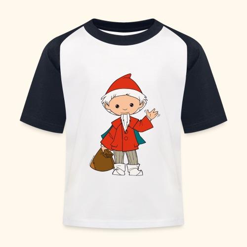 Sandmännchen winkt - Kinder Baseball T-Shirt