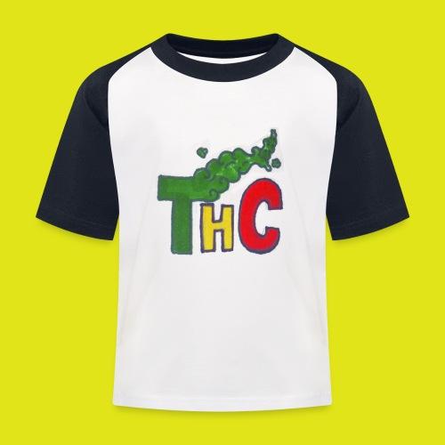 THC logo one - Maglietta da baseball per bambini