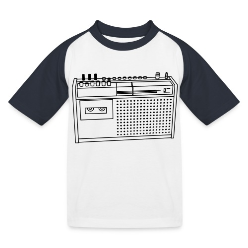 Rekorder R160 - Kinder Baseball T-Shirt