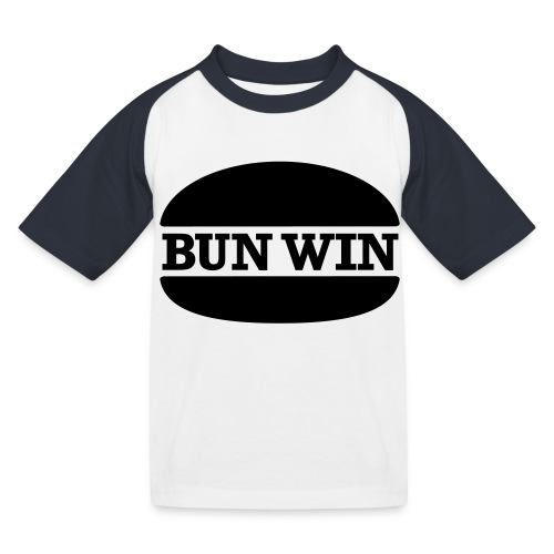 bunwinblack - Kids' Baseball T-Shirt