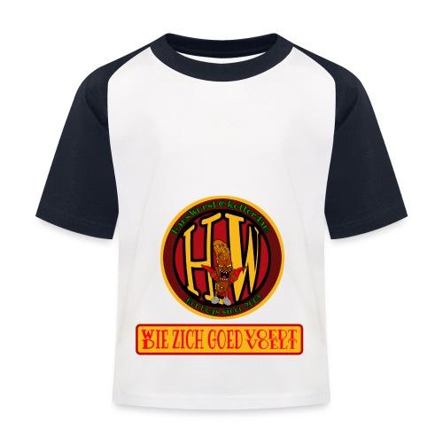 wie en die png - Kids' Baseball T-Shirt
