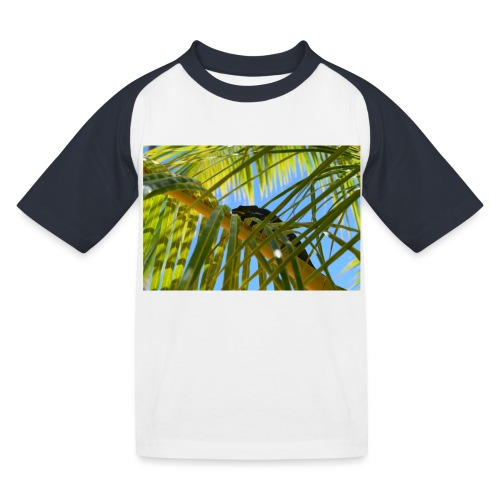 Camaleonte - Maglietta da baseball per bambini