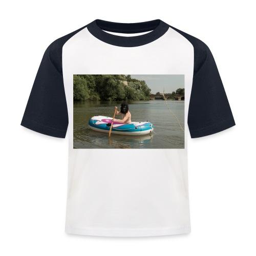 Wir stammen vom Affen ab - Kinder Baseball T-Shirt