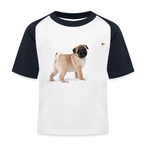 walker family pug merch - Kids' Baseball T-Shirt