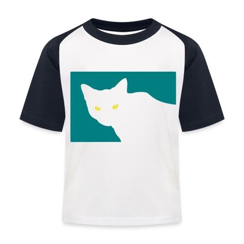 Spy Cat - Kids' Baseball T-Shirt