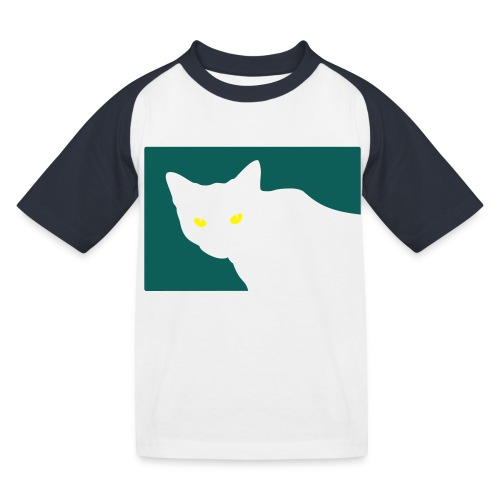 Spy Cat - Kids' Baseball T-Shirt
