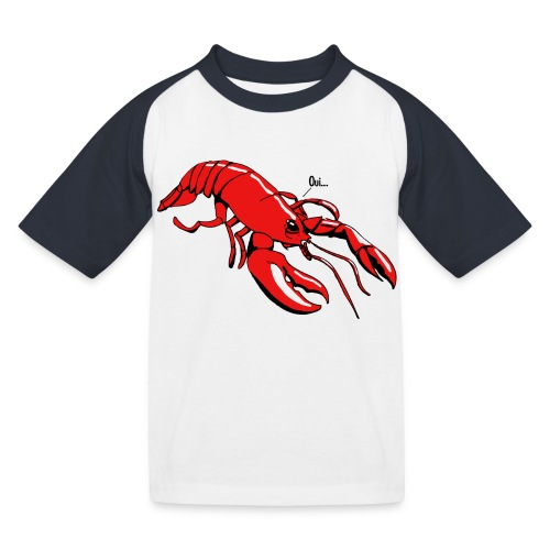 Lobster - Kids' Baseball T-Shirt