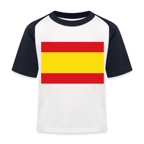 vlag van spanje - Kinderen baseball T-shirt
