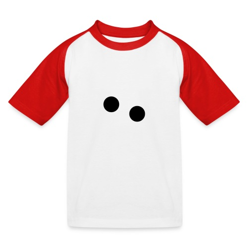 silly eyes - Kinderen baseball T-shirt