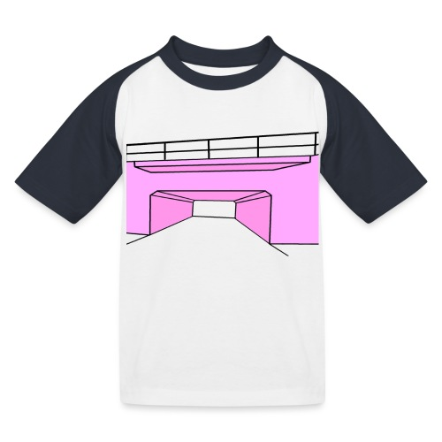 Pink Tunnel - Baseboll-T-shirt barn