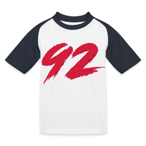 92 Logo 1 - Kinder Baseball T-Shirt