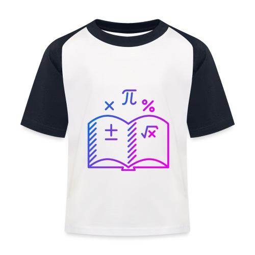Wiskunde Boek - Kinderen baseball T-shirt