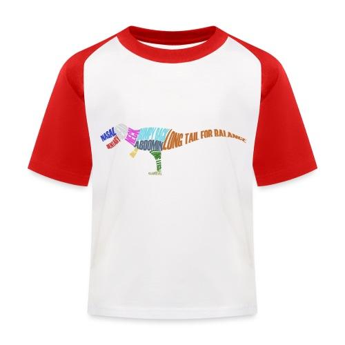 DINOSAUR - Kids' Baseball T-Shirt