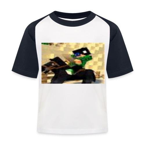 me jpg - Kids' Baseball T-Shirt
