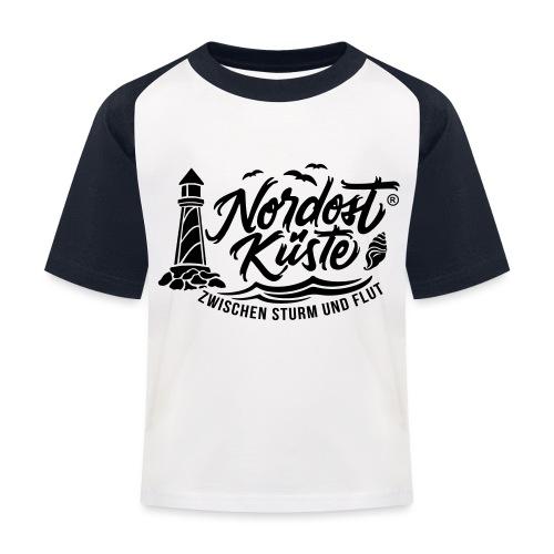 Nordost Küste Logo #6 - Kinder Baseball T-Shirt