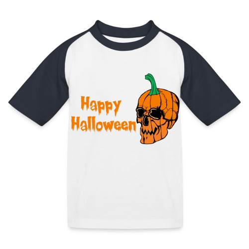 Happy Halloween - Kids' Baseball T-Shirt