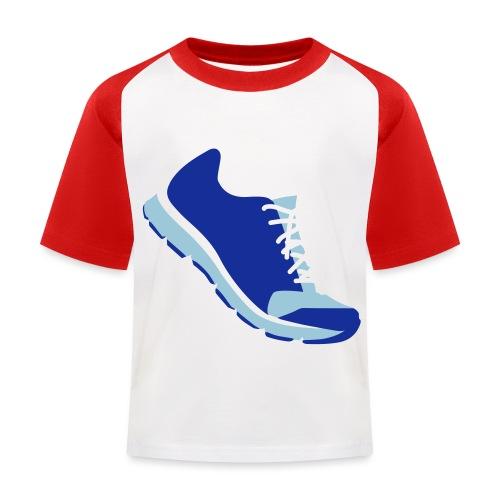 Laufschuh - Kinder Baseball T-Shirt
