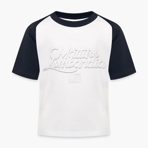 Uomo - Maglietta - Mattino Lombardia - Maglietta da baseball per bambini