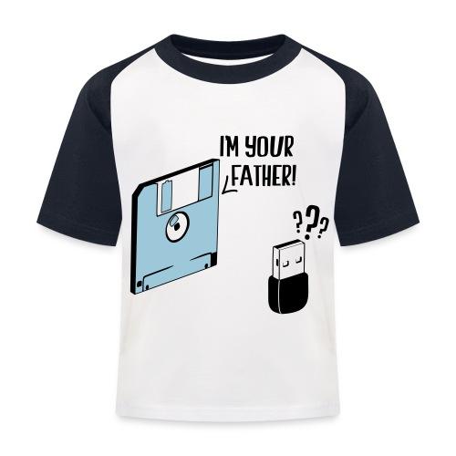 I'm your father - T-shirt baseball Enfant
