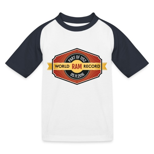 Nappo-Kids - Kinder Baseball T-Shirt