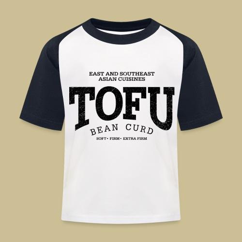 Tofu (black oldstyle) - Kinder Baseball T-Shirt