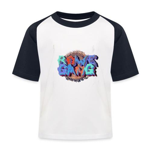 RoweGang Basic Logo - Lasten pesäpallo  -t-paita