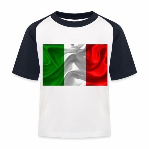 Italien - Kinder Baseball T-Shirt