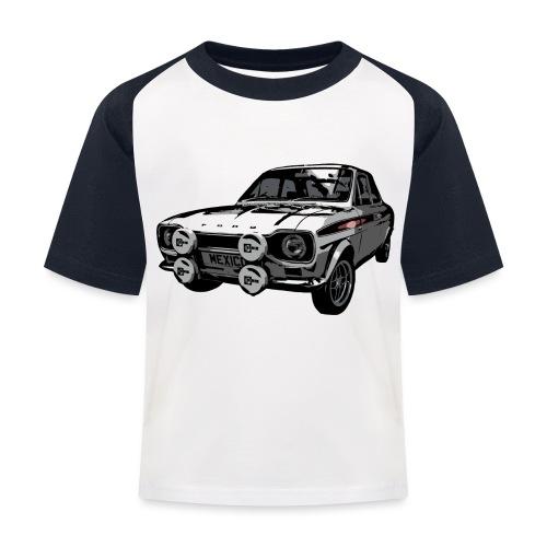 Mk1 Escort - Kids' Baseball T-Shirt