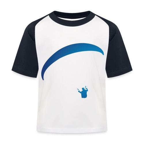carinthianparagliders, blue - Kinder Baseball T-Shirt