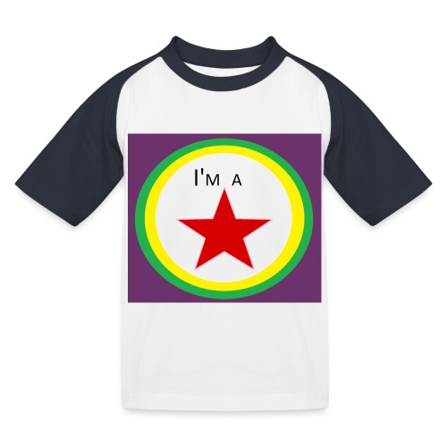I'm a STAR! - Kids' Baseball T-Shirt