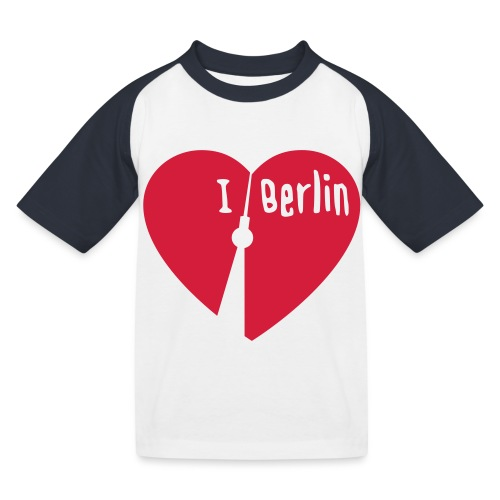 I love Berlin (1-farbig) - Kinder Baseball T-Shirt