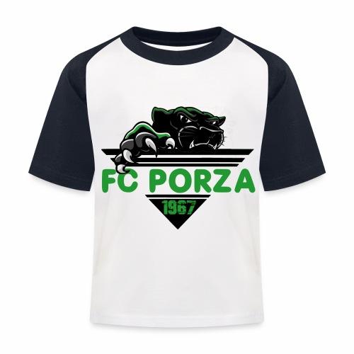 FC Porza 1 - Kinder Baseball T-Shirt