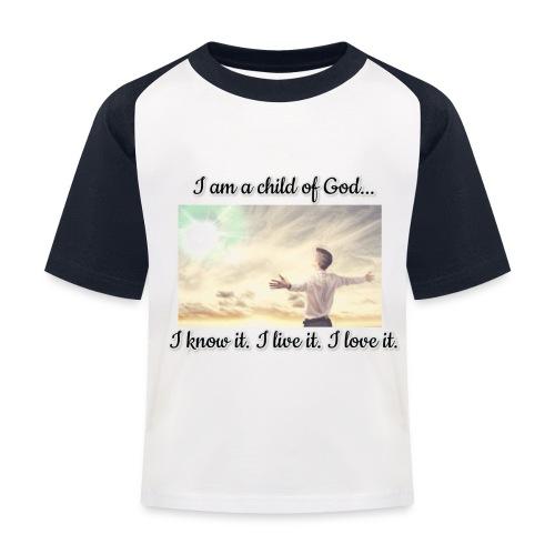 F1DD7146 7552 4064 992D 041EA7838A52 - Baseball T-shirt til børn