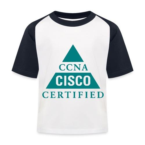 ccna male - Koszulka bejsbolowa dziecięca