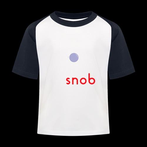 NUOVO3 png - Kids' Baseball T-Shirt