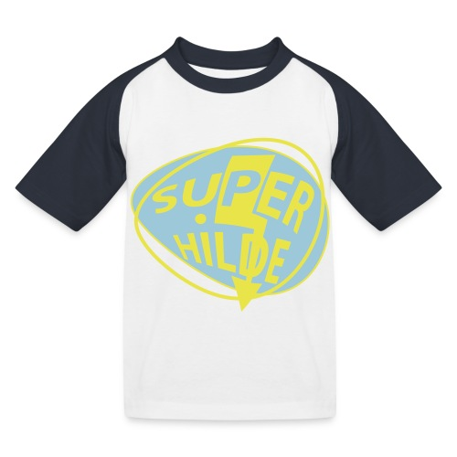 superhilde - Kinder Baseball T-Shirt