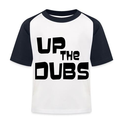 UP the DUBS - Kids' Baseball T-Shirt