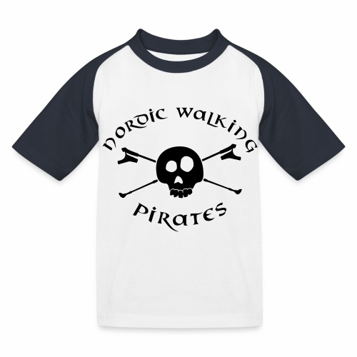 NordicWalkingPirates_2017 - Kinder Baseball T-Shirt