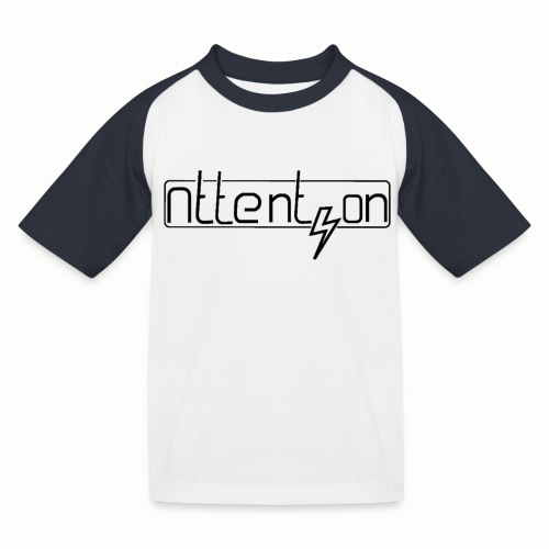 attention - Kinderen baseball T-shirt