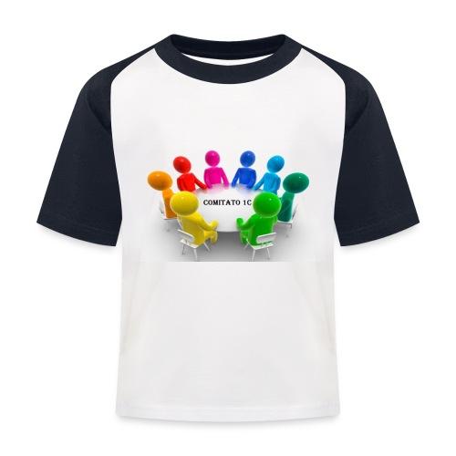 comitato 1c - Maglietta da baseball per bambini