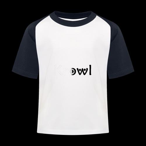 Krowl 1st Yin & Yang Design - T-shirt baseball Enfant