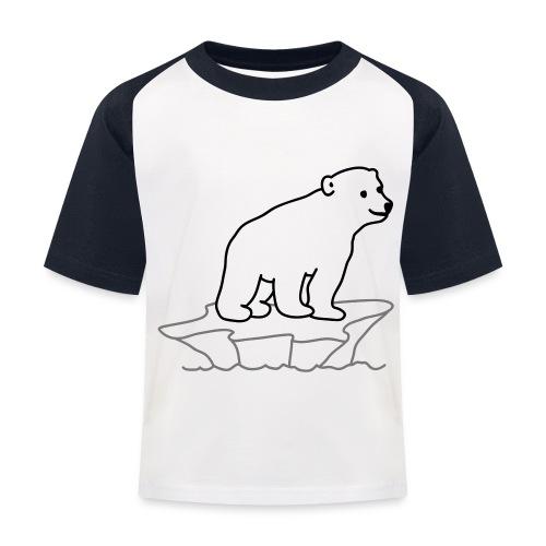 Eisbaer - Kinder Baseball T-Shirt