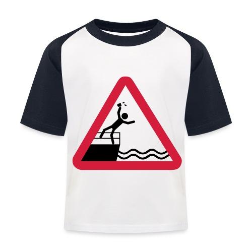 Bitte kein Bier Verschütten! - Kinder Baseball T-Shirt