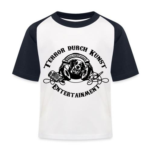 tdklogoschwarz 3 - Kinder Baseball T-Shirt