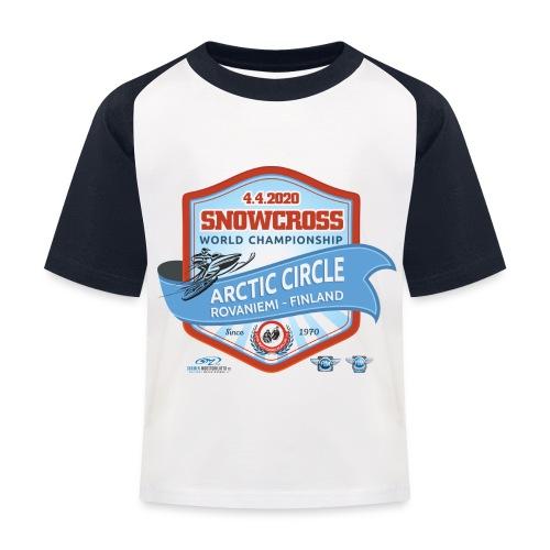 MM Snowcross 2020 virallinen fanituote - Lasten pesäpallo  -t-paita