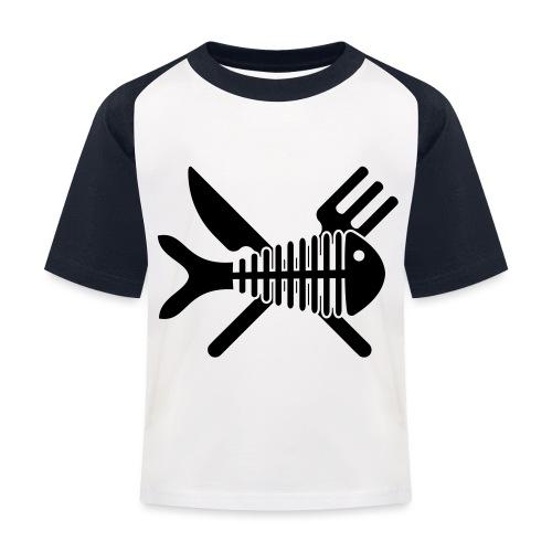 Poisson couvert - T-shirt baseball Enfant