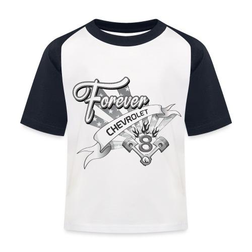 Forever V8 - Baseboll-T-shirt barn