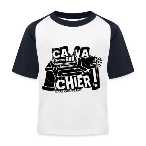 gastrogun - T-shirt baseball Enfant