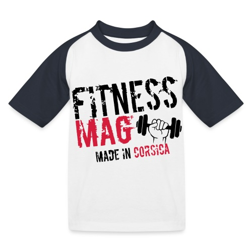 Fitness Mag made in corsica 100% Polyester - T-shirt baseball Enfant